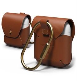 Чехол Elago для AirPods Genuine leather case (Коричневый) (EAPLE-BR) - фото 25514