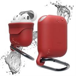 Чехол Elago для AirPods Waterproof hand case (Цвет: Красный) (EAPWF-RD) - фото 25562