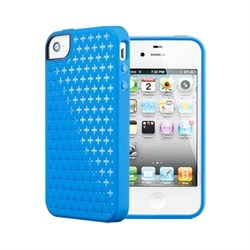 Чехол SGP Modello Case Blue для iPhone 4 / 4s - фото 3489