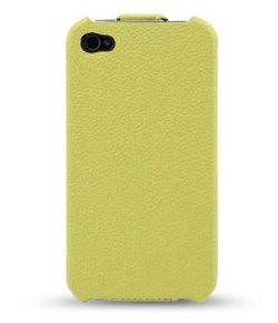 Кожаный чехол Melkco Leather Case Jacka Type Olive для iPhone 4 / 4s - фото 3491