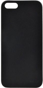 "Чехол-накладка Uniq Bodycon для iPhone 5/5S/SE (цвет ""черный"") (IPSEHYB-BDCBLK) - фото 25706"
