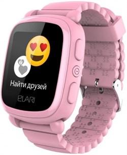 Elari KidPhone 2 часы-телефон розовые (KP-2-PINK) - фото 25784