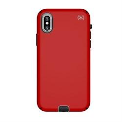 """Чехол-накладка Speck Presidio Sport для iPhone X/XS, цвет """"красный/серый/чёрный"""" (104443-6685) - фото 25831"""