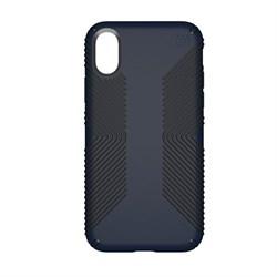 """Чехол-накладка Speck Presidio Grip для iPhone X/XS, цвет """"тёмно-синий/черный"""" (103131-6587) - фото 25860"""