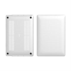 """Чехол-накладка LAB.C Matt Hard Case для ноутбука Apple MacBook Pro Retina 15"""", цвет """"прозрачный матовый"""" (LABC-449) - фото 25881"""