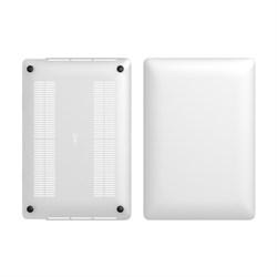 """Чехол-накладка для ноутбука MacBook Pro 2016 13"""". (Материал пластик) (цвет прозрачный матовый) (LABC-452-CR) - фото 25983"""