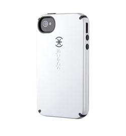 Чехол Speck CandyShell White/Black для iPhone 4 / 4s