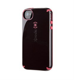 Чехол Speck CandyShell Black/Red для iPhone 4 / 4s