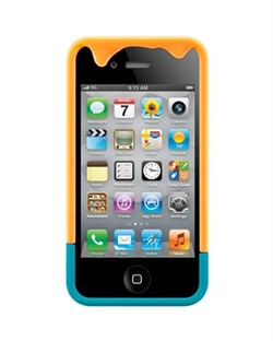 Пластиковый чехол SwitchEasy Melt Cases Orange iPhone 4 / 4S