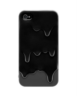 Пластиковый чехол SwitchEasy Melt Cases Black iPhone 4 / 4S