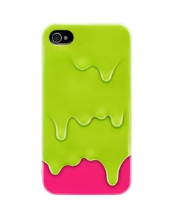 Пластиковый чехол SwitchEasy Melt Cases Green iPhone 4 / 4S
