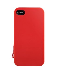 Пластиковый чехол SwitchEasy Lanyard Cases Red iPhone 4 / 4S
