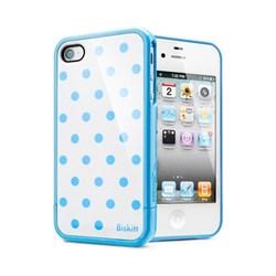 Чехол SGP Linear Biskitt Series Case Blue iPhone 4 / 4S