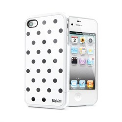 Чехол SGP Linear Biskitt Series Case Black iPhone 4 / 4S