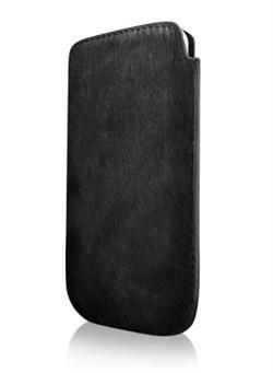 Кожаный чехол More Safara Classic Mustang/Black для iPhone 4