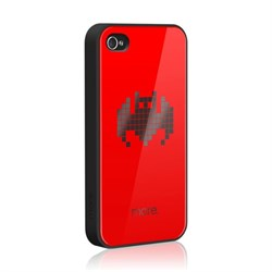 Чехол More Cubic Red Exclusive Bat (Летучая мышь) для iPhone 4 4s