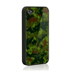 Чехол More Cubic Collection Khaki Green для iPhone 4 4s