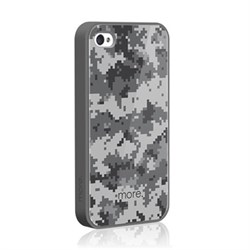 Чехол More Cubic Collection Khaki Gray для iPhone 4 4s
