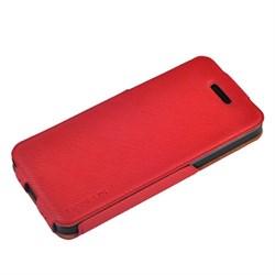 Чехол BASEUS PU Leather Twill Top Flip Open Case Red для iPhone 5