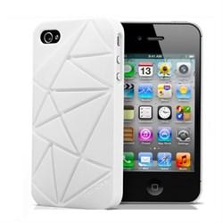Чехол Coin 4 White для iPhone 4/4S
