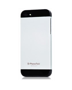 Чехол Phone Add White/Black Plastic Case для iPhone 5