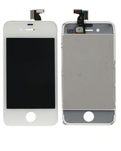 Дисплей для iPhone 4s в сборе, белый (копия)