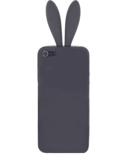 Чехол Rabito Black без хвостика для iPhone 4/4s