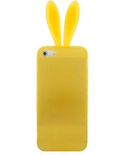 Чехол Rabito Yellow без хвостика для iPhone 4/4s