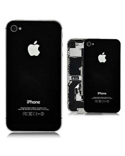 Задняя крышка панель для iPhone 4S, чёрная (копия)