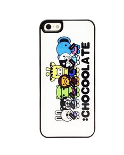 Чехол A Bathing Ape Chocoolate All Together для iPhone 5