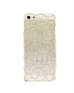 Чехол Сlear Vines Flower Case для iPhone 5