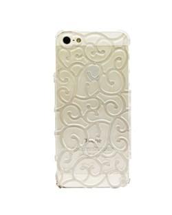 Чехол Сlear Vines Flower Case для iPhone 5