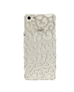 Чехол Silver Vines Flower Case для iPhone 5