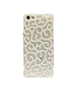 Чехол White Vines Flower Case для iPhone 5