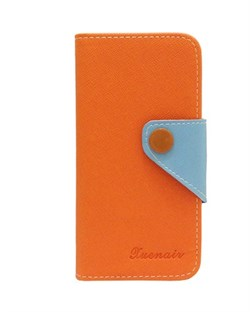 Чехол-книжка Orange Wallet Case Xuenair для iPhone 5