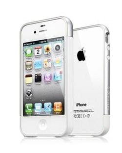 Бампер SGP Case Linear EX Meteor Infinity White для iPhone 4/4S