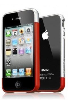 Бампер SGP Case Linear EX Meteor Dante Red для iPhone 4/4S