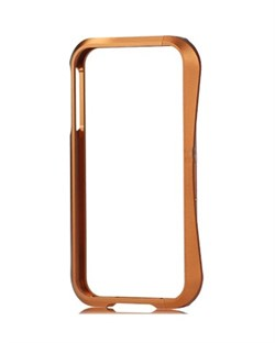 Алюминиевый бампер Deff Cleave Metal Blade Brown для iPhone 4/4S
