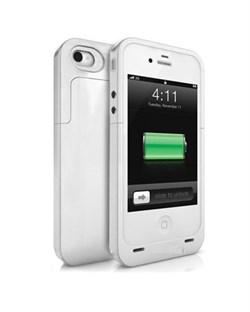 Чехол-аккамулятор The Outer Jacket Battery White для iPhone 5