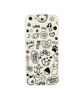 Чехол Fashion Little Witch Series White для iPhone 5