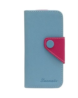 Чехол-книжка Blue Wallet Case Xuenair для iPhone 5