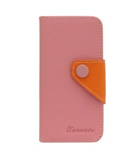 Чехол-книжка Light Pink Wallet Case Xuenair для iPhone 5