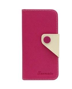 Чехол-книжка Pink Wallet Case Xuenair для iPhone 5