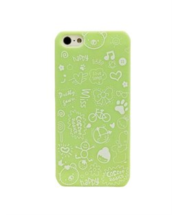 Чехол Fashion Little Witch Series Green для iPhone 5