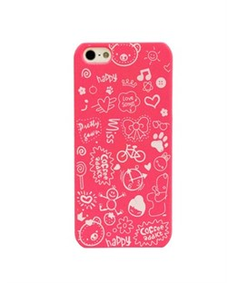 Чехол Fashion Little Witch Series Red для iPhone 5