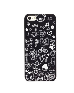 Чехол Fashion Little Witch Series Black для iPhone 5