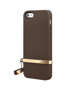 Оригинальный чехол SwitchEasy Lanyard Brown для iPhone 5