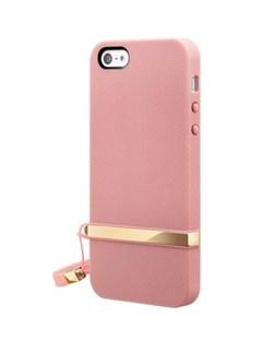 Оригинальный чехол SwitchEasy Lanyard Pink для iPhone 5