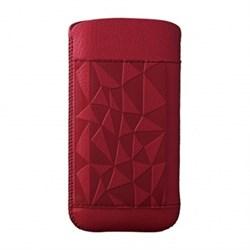 Чехол кожаный Ozaki O!coat Nature Rock красный для iPhone 5