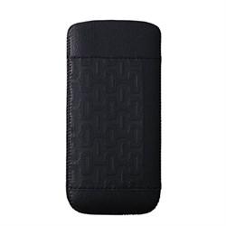 Чехол кожаный Ozaki O!coat Nature Birds чёрный для iPhone 5